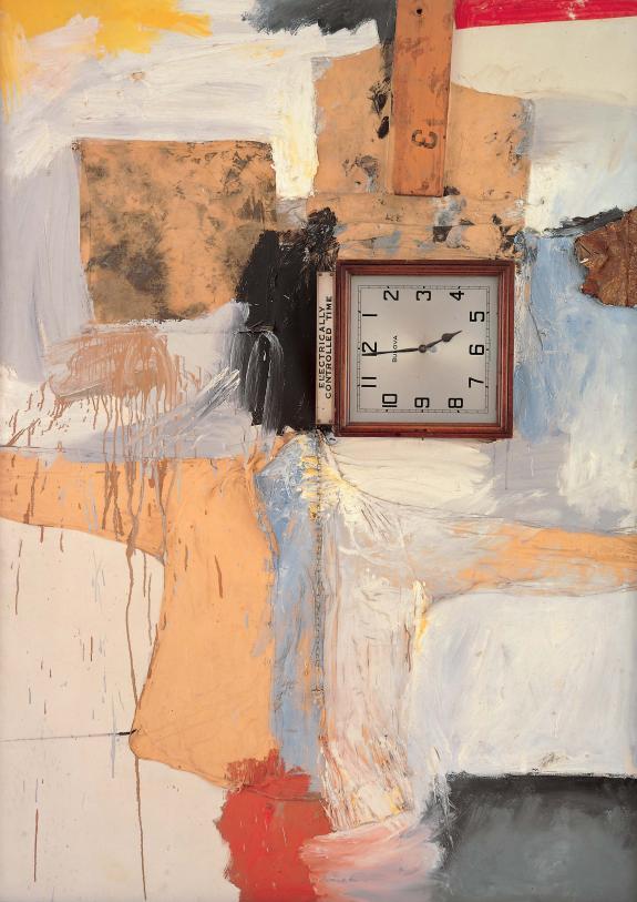 Robert Rauschenberg-Robert Rauschenberg - Third Time Painting-1961