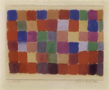 Paul Klee-Harmony Of Southern Flora-1927