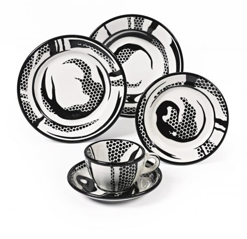 Roy Lichtenstein-Dinnerware-1966