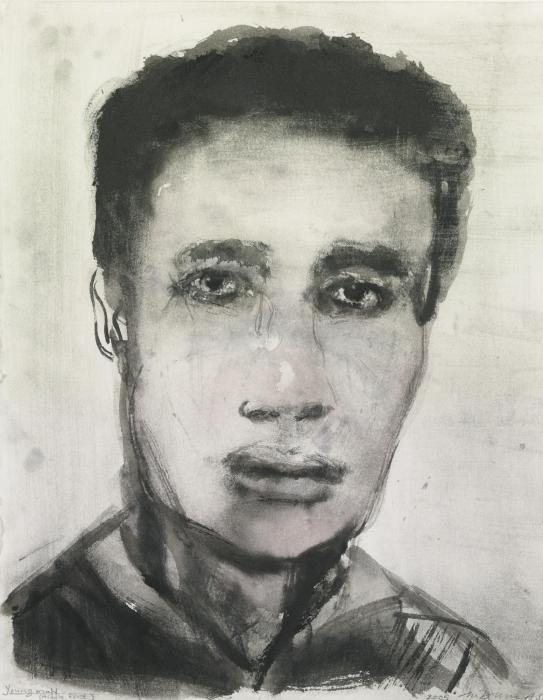 Marlene Dumas-Young Man (Middle East)-2005