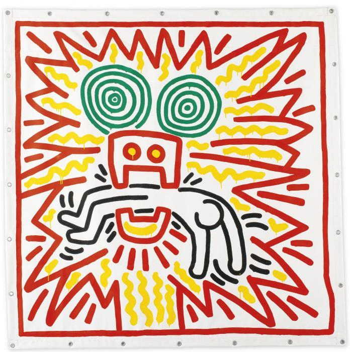 Keith Haring-Keith Haring - Untitled #742-1983