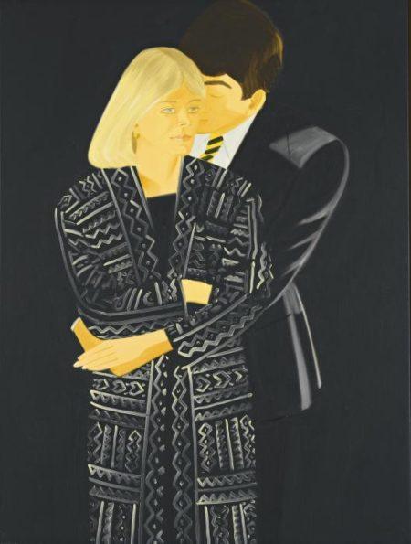 Alex Katz-Vicki and Wally-1983