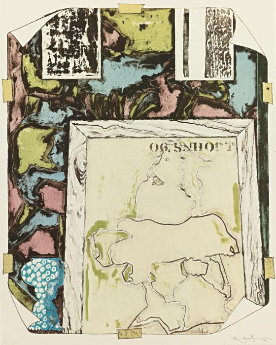 Jasper Johns-Untitled (ULAE 258) (G. 1572)-1992