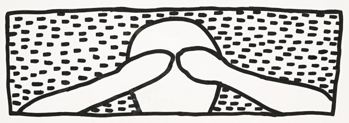 Keith Haring-Keith Haring - Untitled (For Daryl)-1980
