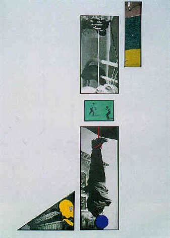 John Baldessari-Hanging Man-1988