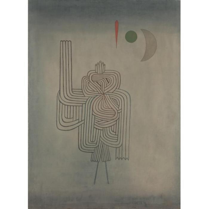 Paul Klee-Gespenster, Abgang (Departure Of The Ghost)-1931