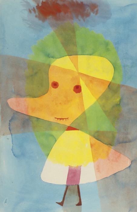 Paul Klee-Kleiner Gartengeist (Small Garden Ghost)-1929