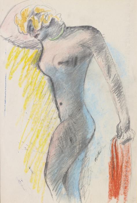 Le Corbusier-Mulatresse du Bresil; Femme allongee-1935