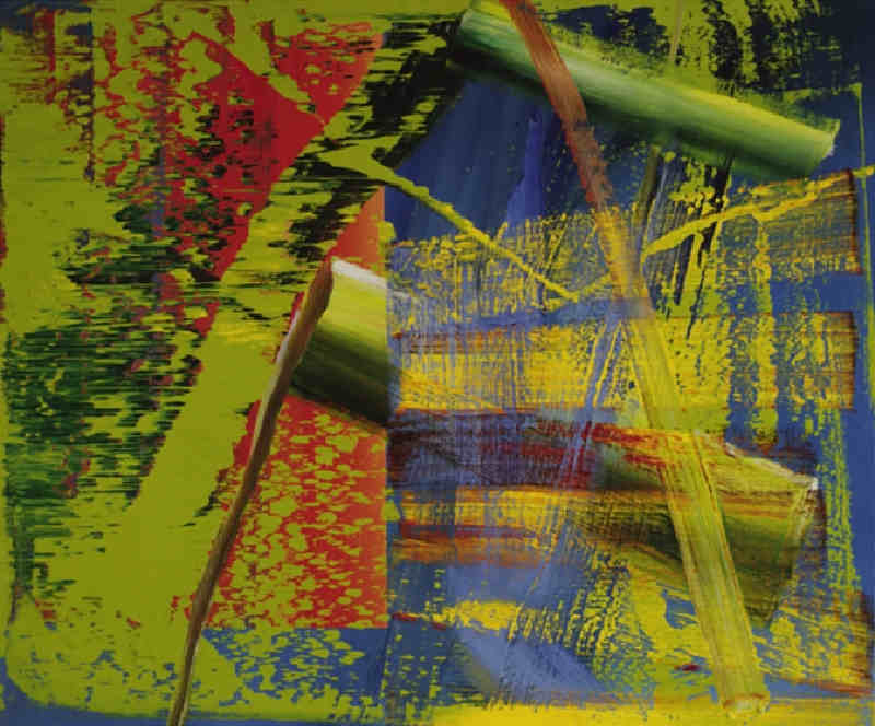 Gerhard Richter-Abstraktes bild 563-1 (Abstract Painting 563-1)-1984