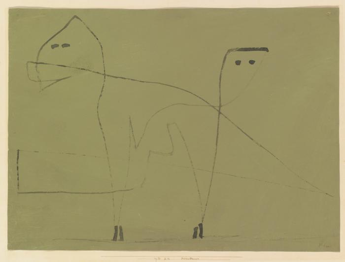 Paul Klee-Mesalliance-1933