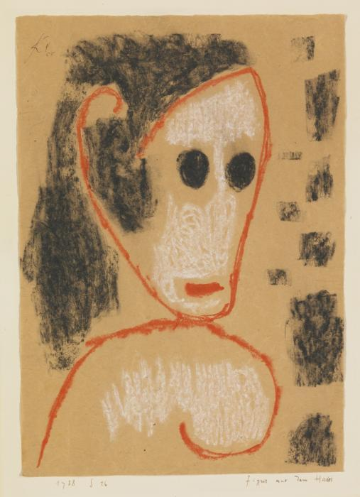Paul Klee-Figur Aus Dem Hades (Figure From Hades)-1938
