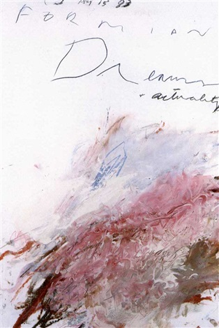 Cy Twombly-Formian Dreams and Actuality-1983