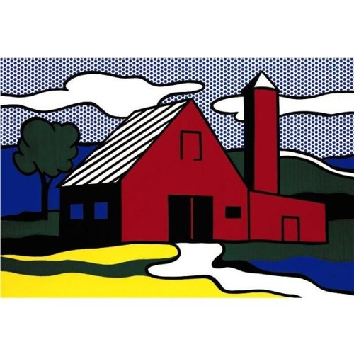 Roy Lichtenstein-Red Barn I-1969