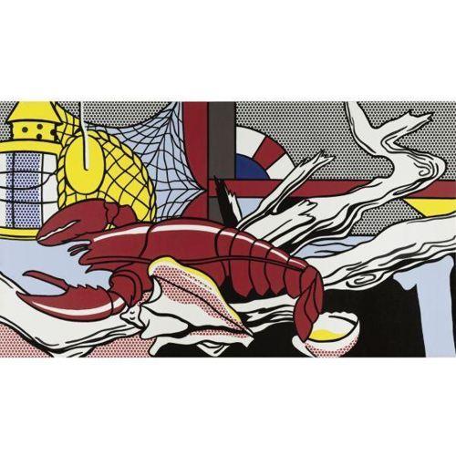 Roy Lichtenstein-Still Life with Lobster-