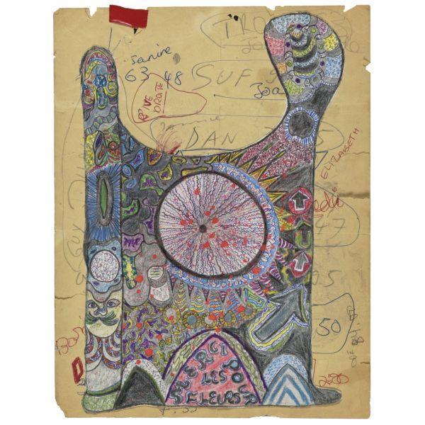 Niki de Saint Phalle-Merci pour les Fleurs-