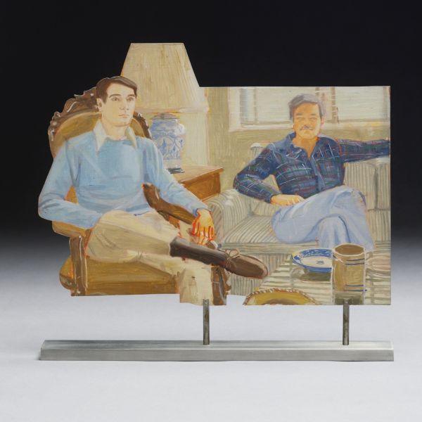 Alex Katz-David and John-1977