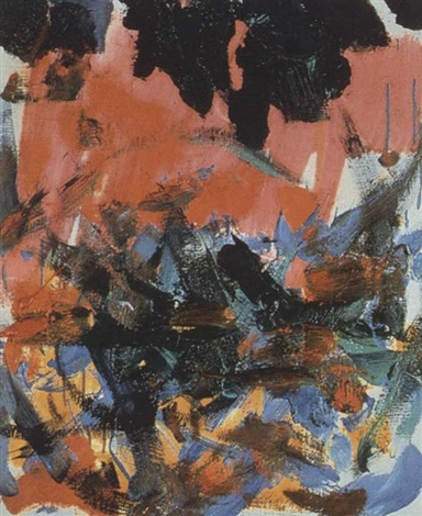 Joan Mitchell-English Violet-1981