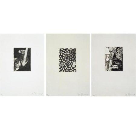 Jasper Johns-Untitled (ULAE 221-223)-1981