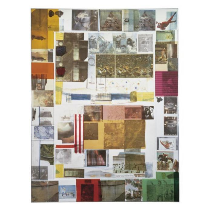 Robert Rauschenberg-Robert Rauschenberg - Rush 3 (From The Cloister Series)-1980