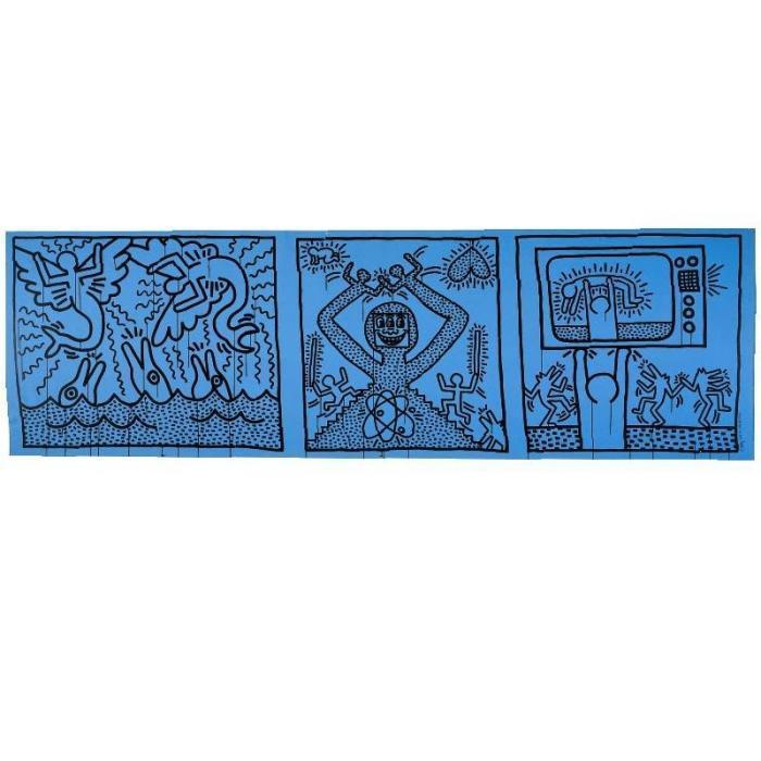 Keith Haring-Keith Haring - Untitled-1982