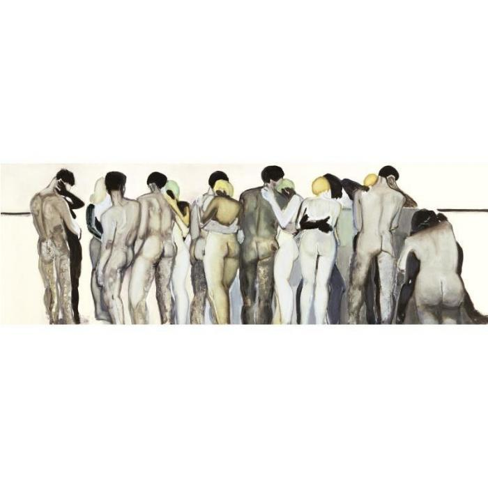 Marlene Dumas-Love Your Neighbor-1994