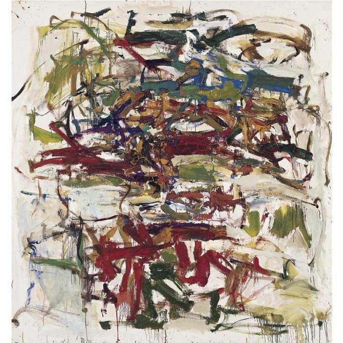 Joan Mitchell-Untitled-1957