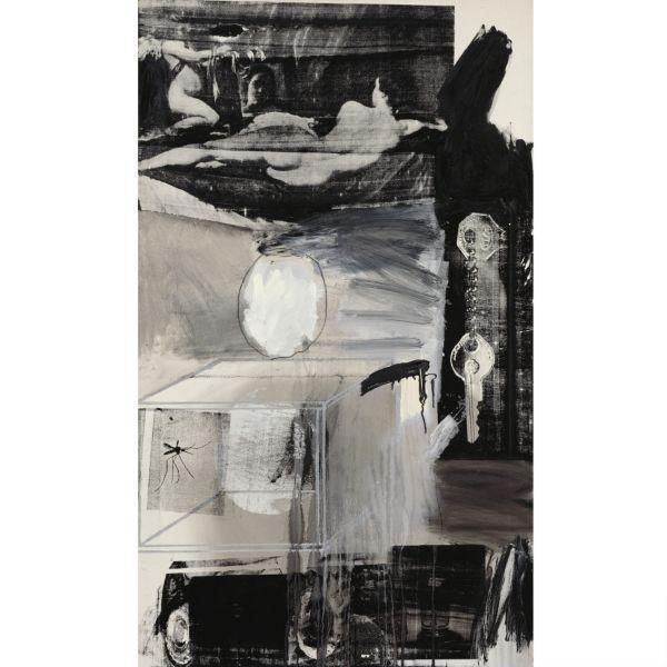Robert Rauschenberg-Robert Rauschenberg - Exile-1962