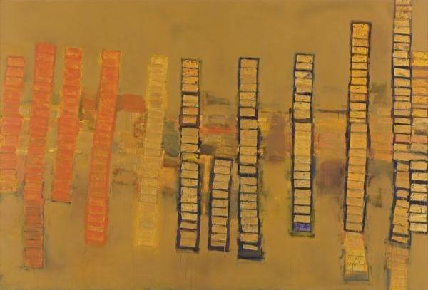 Richard Prince-Check Painting # 12-2004