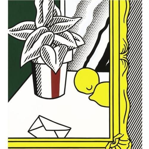 Roy Lichtenstein-Painting (Still Life with Envelope)-1982