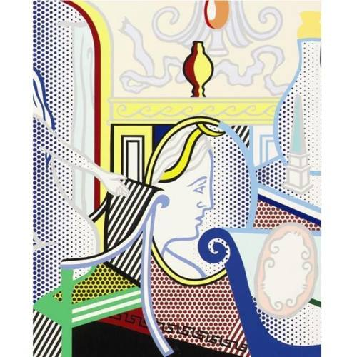 Roy Lichtenstein-Interior with Diana-1997