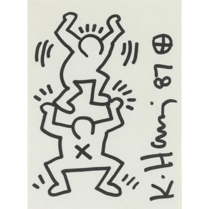 Keith Haring-Keith Haring - Untitled-1987