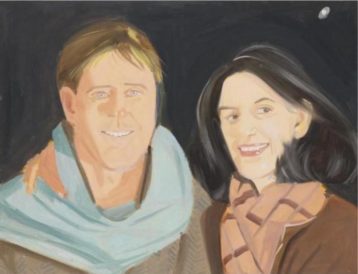 Alex Katz-Douglas and Ada-1986