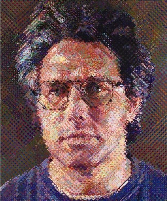 Chuck Close-Eric-1990
