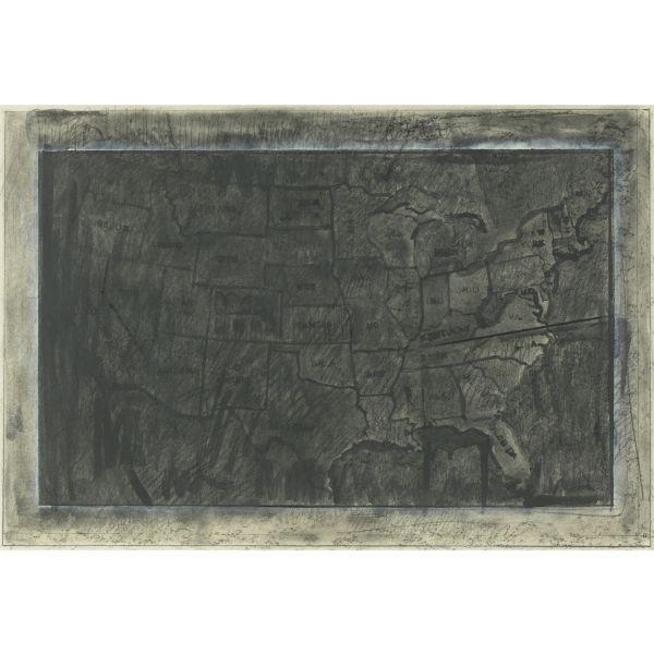 Jasper Johns-Map-1971