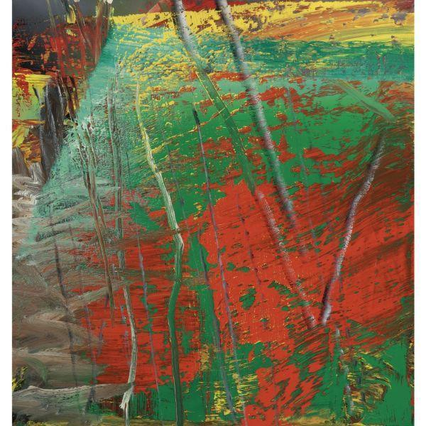 Gerhard Richter-Abstraktes Bild 582-2 (Abstract Painting 582-2)-1985