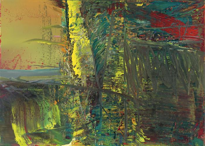 Gerhard Richter-Abstraktes Bild 595-3 (Abstract Painting 595-3)-1986