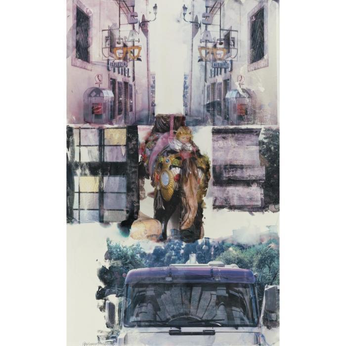 Robert Rauschenberg-Robert Rauschenberg - Eyes of the Beholder [Anagram (A Pun)]-1998