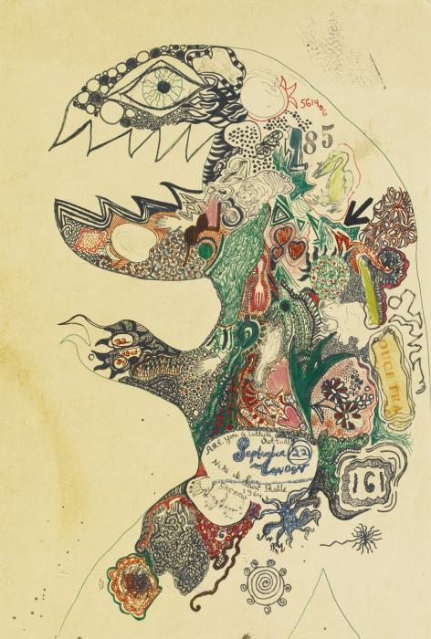 Niki de Saint Phalle-Gorgo-1964