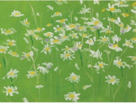 Alex Katz-Daisies #2-1992