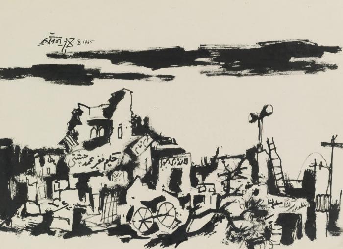Maqbool Fida Husain-Untitled-1965