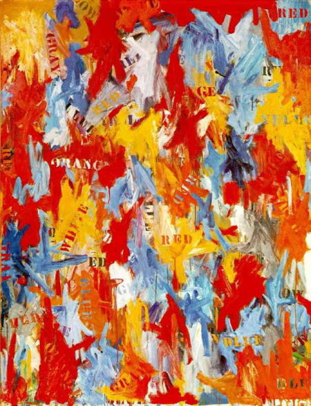 Jasper Johns-False Start-1959