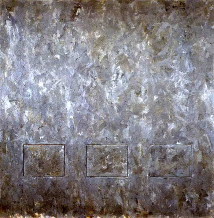 Jasper Johns-Gray Rectangles-1957
