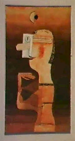 Paul Klee-Abstractions Maske-1924
