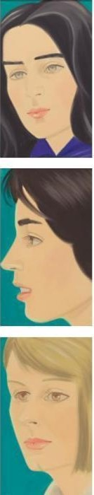 Alex Katz-Maquette for Times Square Billboard-1977
