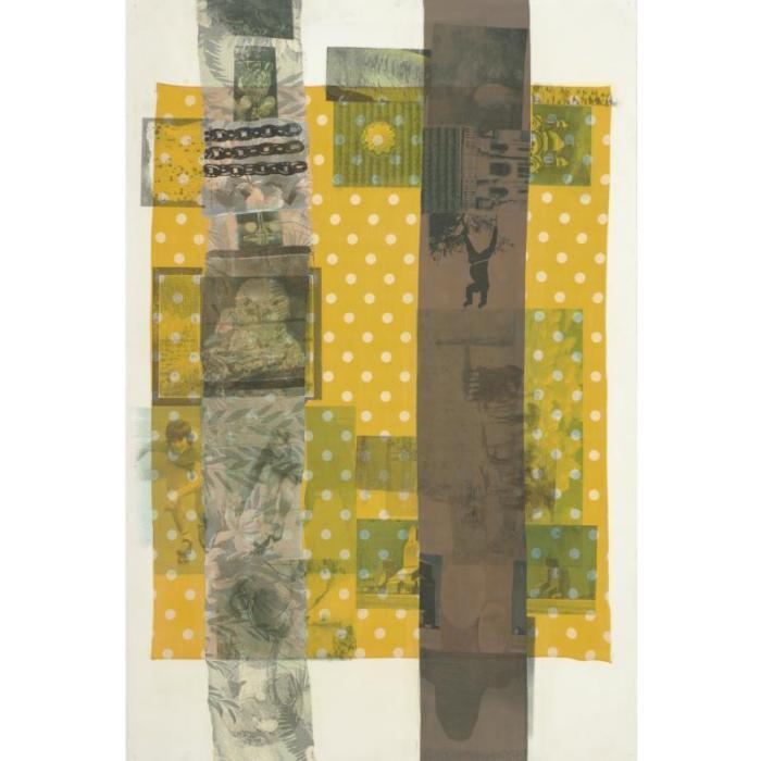 Robert Rauschenberg-Robert Rauschenberg - Sprout Plot (Slide)-1979