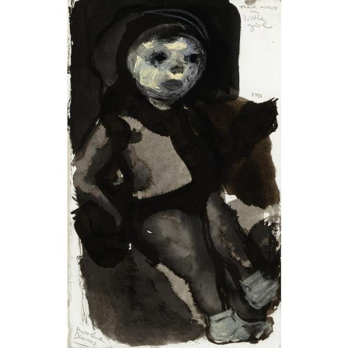 Marlene Dumas-There Was A Little Girl-1991
