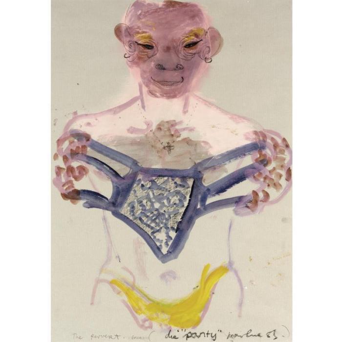 Marlene Dumas-The Pervert-1984