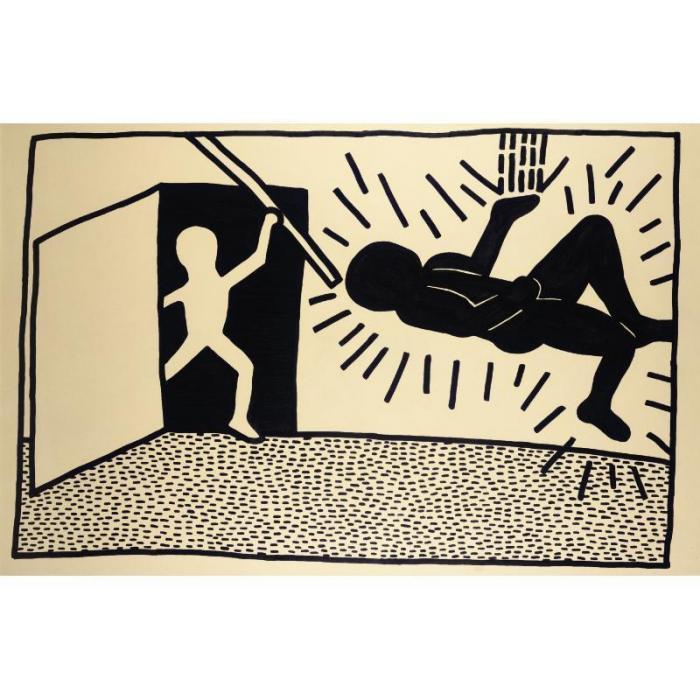 Keith Haring-Keith Haring - P.S.122-1980