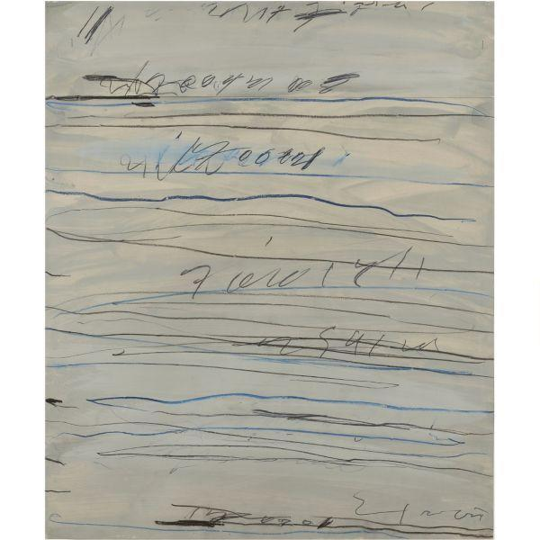 Cy Twombly-Untitled (Roman Notes)-1971