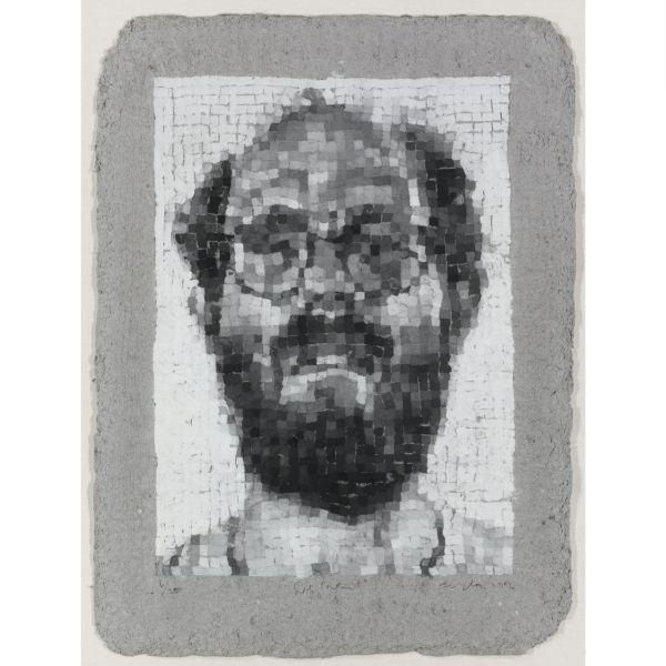 Chuck Close-Self Portrait, Manipulated-1984